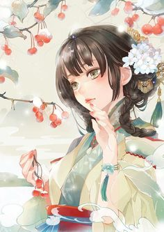 Find images and videos about anime and illustration on We Heart It - the app to get lost in what you love. Fantasy Kunst, Fantasy Art, Manga Drawing, Manga Art, Kawaii Anime, Pandaren Monk, Chino Anime, Chinese Drawings, Art Pictures
