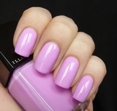 AllYouDesire: Illamasqua Harem. Glowing bright pink purple nail color. #summer nails