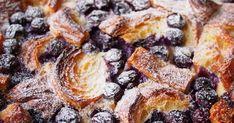 Gyümölcsös kiflifelfújt maradék pékáruból: croissantból, de kalácsból is készülhet - Receptek | Sóbors French Toast, Breakfast, Food, Morning Coffee, Essen, Meals, Yemek, Eten