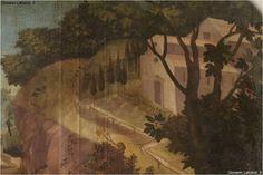 Chieti, chiesa di San Giovanni Battista, Cappuccini, tela di San Francesco che parla agli uccelli