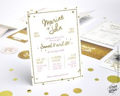 faire part mariage vintage fanion eloise rose pochette americain wedding invites pinterest. Black Bedroom Furniture Sets. Home Design Ideas