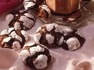 Chocolate Crinkles...yummy!