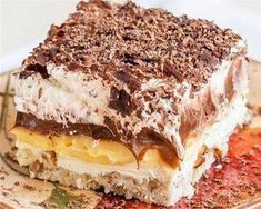 A dessert bond with extraordinary name united with exceptional taste. Various opinions will rise up upon hearing this dessert's name. What is really this dessert, and how to serve one? This dessert… Brownie Desserts, Desserts To Make, Brownie Trifle, Cold Desserts, Light Desserts, Easy No Bake Desserts, Winter Desserts, Cheesecake Desserts, Raspberry Cheesecake