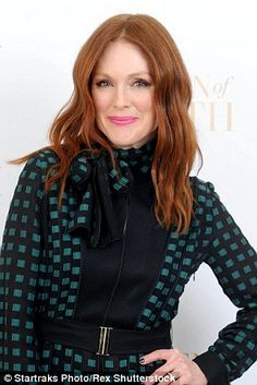 Julianne Moore has embraced her natural colour and hopes to help young reds to do the same...