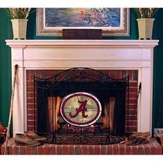 Alabama Crimson Tide Fireplace Screen