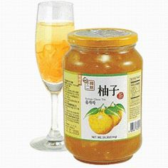 Korean citron tea is the best and can be purchased online or at any Korean market.  My friend Adrian introduced me to this lemon marmalade.  It is so tasty you can eat it right out of the jar!I I added it to freshly brewed green tea and sat back and enjoyed.  Hot lemon and honey tea was what my 90 year old Korean grandma used to make us when we had a cough or sore throat.  Natures medicine!