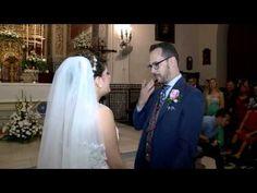 Novia entra cantando a la iglesia - YouTube