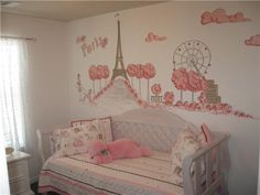 Cute little girl's bedroom!                                                                                                                                                                                 More