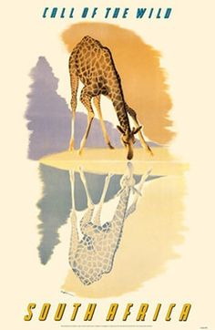 30x Vintage Travel Posters South Africa   The Travel Tester
