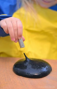 magnetic slime recipe
