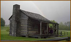 Davy Crockett Birthplace State Park - Limestone, Tennessee = Cabin, Museum, events, camping, picnic, fishing, swimming pool,