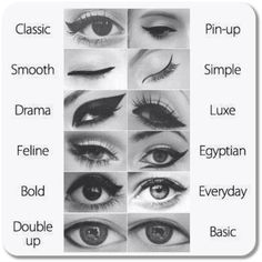 viral-creek:  How to do Different Eyeliner Styleshttp://beauty.viralcreek.com/different-eyeliner-styles/