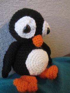 gehaakte pinguin