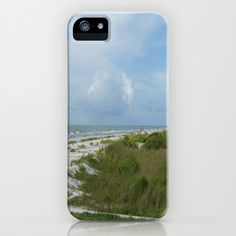 A Day At The Beach iPhone Case by Rosie Brown - $35.00