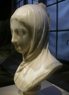Véus de Mármore (e de papel) - Esculturas fantásticas!