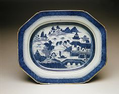 Platter and Rack  Date:     1800–1830 Geography:     China Culture:     Chinese Medium:     Porcelain