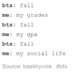 Most of us can relate with this but I can't. I'm surprised that I can keep up with my grades AND be so into the Kpop world.