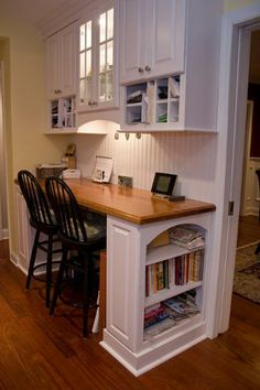 office nook off kitchen