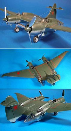 Scratch built 1/32 scale Belyayev DB-LK  by Frank Mitchell  http://hyperscale.com/2007/features/belyayev32fm_1.htm