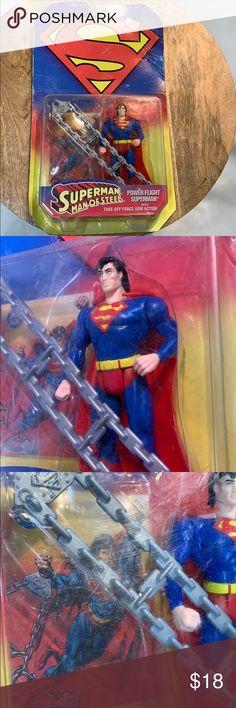 """MINI MEZITZ MAN OF STEEL JOR-EL SUPERMAN /& GENERAL ZOD 2/"""" TALL NEW MEZCO"""