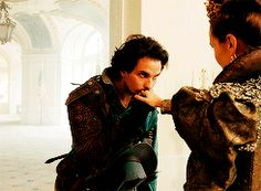 queen anne  and aramis | Aramis and Queen Anne - the-musketeers-bbc Fan Art