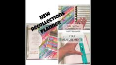 NEW Recollections Planner From Michaels! Full Flip Thru Comparing to Hap...