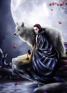 One lone wolf with a special human......