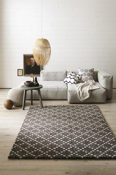 Schöner Wohnen Teppich, Davinci 602/040, schwarz