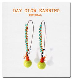 #beads Just a fabulous DIY for your Saturday evening: http://www.ornamentea.com/…/TutorialP…/DayGlowEarrings.html…  Need beads? Here ya go: http://www.happymangobeads.com/