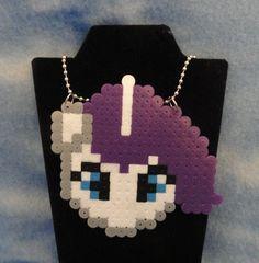 Rarity Necklace My Little Pony MLP FiM g4. $7.00, via Etsy.