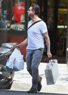 Dave Gahan Shopping...