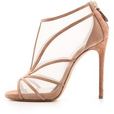 63c3b989fd Casadei Net & Suede Booties - Barbarella/Net/Oro/Beige Chaussure Basket  Femme