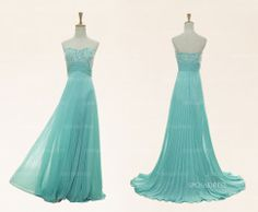 Homecoming dresses long prom dresses blue prom by sposadress, $129.00