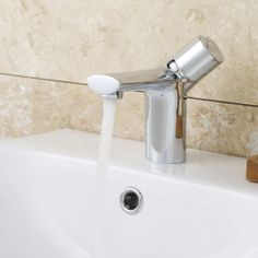 Add a touch of designer style to your bathroom with the Nemesis mono basin mixer