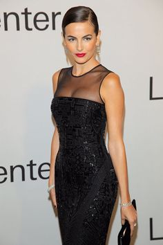 little black dress with red lipstick (Camilla Belle wearing Ralph Lauren) Looks Chic, Looks Style, Beautiful Gowns, Beautiful Outfits, Moda Outfits, Camilla Belle, Ralph Lauren, Evening Dresses, Formal Dresses