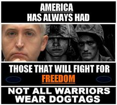 """Not all warriors wear dog-tags..Bravo to all those in Congress willing to stand up for  the Constitution and against the """"LAWLESS PRESIDENT""""."""