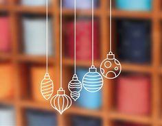 . Decoración Navideña con #vinilos Bolas de #Navidad 04086 #CHRISTMAS