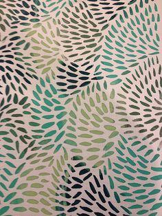 Kate E. Burke - screen print on fabric
