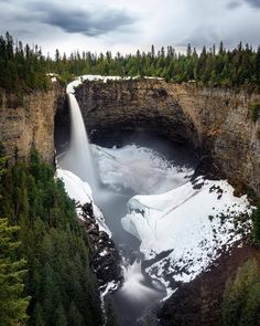 """Planet Earth  (@discovery.hd) on Instagram: """". Photo by @thismattexists Helmcken Falls."""