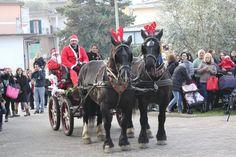 Scuola Infanzia Faleria VT Italy Natale 2015 con A.S.E.I Spettacoli Equestri