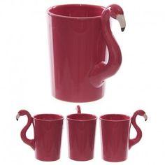 Mug avec anse flamant rose