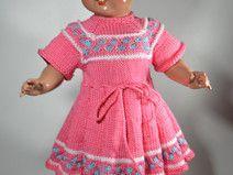 Puppenkleid für 44 cm Puppe