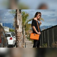 Bolso naranja (calabaza)  Orange Bag