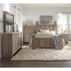 Art Van 6-piece Queen Bedroom Set - Overstock Shopping - Big Discounts on Art Van Furniture Bedroom Sets