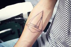 Sandra Beijer Joakim Gets a Tattoo-Day, 2012