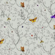 Timorous Beasties Butterflies Wallpaper