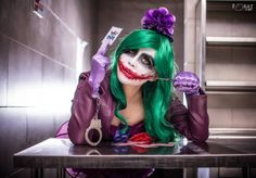 Yugana Senshi with her amazing female Joker cosplay. Photo by Forat Shot