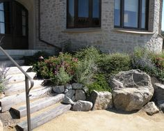 Using boulders in your landscape