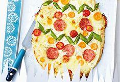 Salami-Spargel-Pizza Pepperoni, Pasta, Food, Asparagus Pizza, Easy Meals, Food Food, Essen, Meals, Yemek