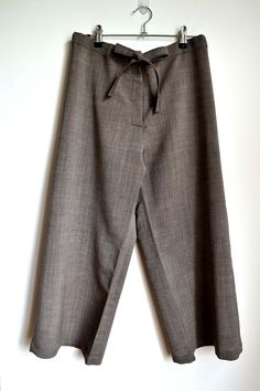 Cropped Pants - Kid's mohair - a-pois